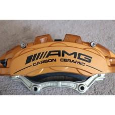 AMG Carbon Ceramic Brake Decals