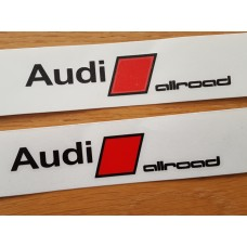 Audi Allroad Brake Decals