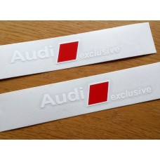 Audi Exclusive Brake Decals