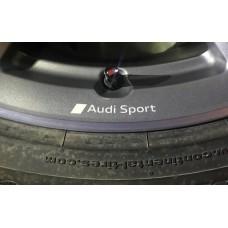Audi Sport Wheel Decals