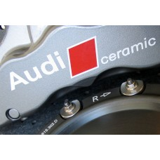 Audi Ceramic Brake Decals