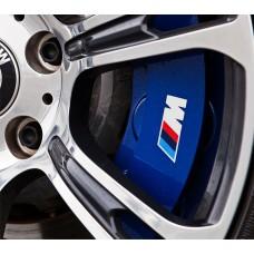 BMW M Brake Decals - Edged
