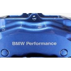 BMW Performance Brake Decals