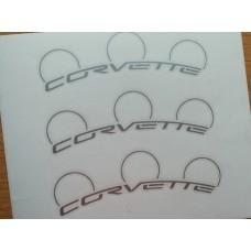 Corvette 6 and 4 Piston Brake Decals