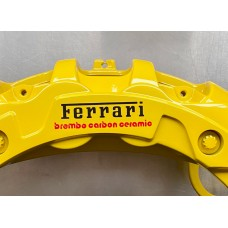 Ferrari Carbon Ceramic Brake Decals