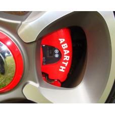 Fiat Abarth Brake Decals