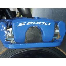 Honda S2000 Brake Decals