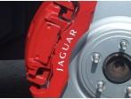 Jaguar Brake Caliper Decals Style 1