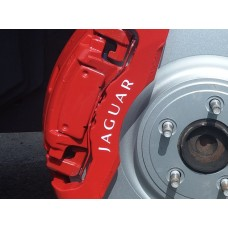 Jaguar Brake Caliper Decals Style 1
