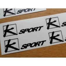 K-Sport Brake Decals