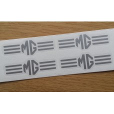 MG Lined Brake Decals