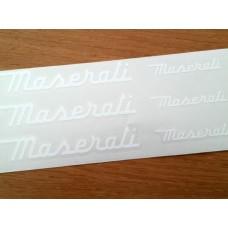 Maserati Brake Decals
