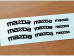 Mazda Brake Decals