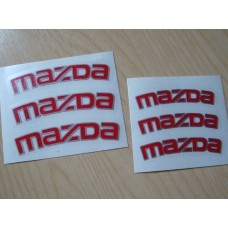 Mazda Brake Decals - Bi-colour