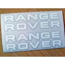 Range Rover Stack Brake Decals