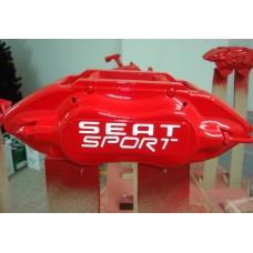 Seat Sport Brake Decals