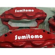 Sumitomo Brake Decals