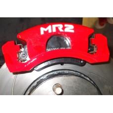Toyota MR2 Brake Decals