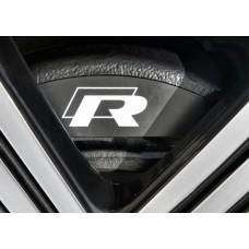 Volkswagen VW R-Line Brake Decals - Single Colour